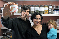 Good Body Products founders Chris and Trish Thomas (and Myla Sol Thomas)